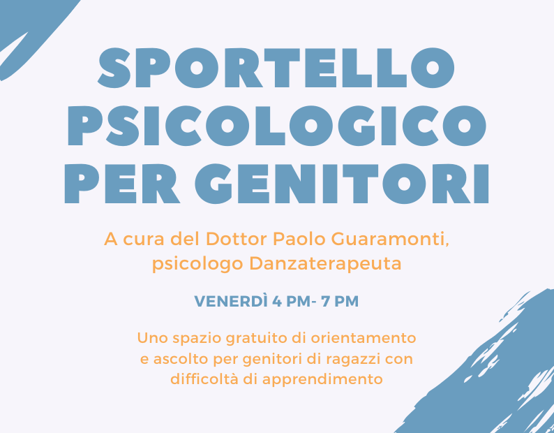 Sportello psicologico Scuola Popolare Tor San Lorenzo